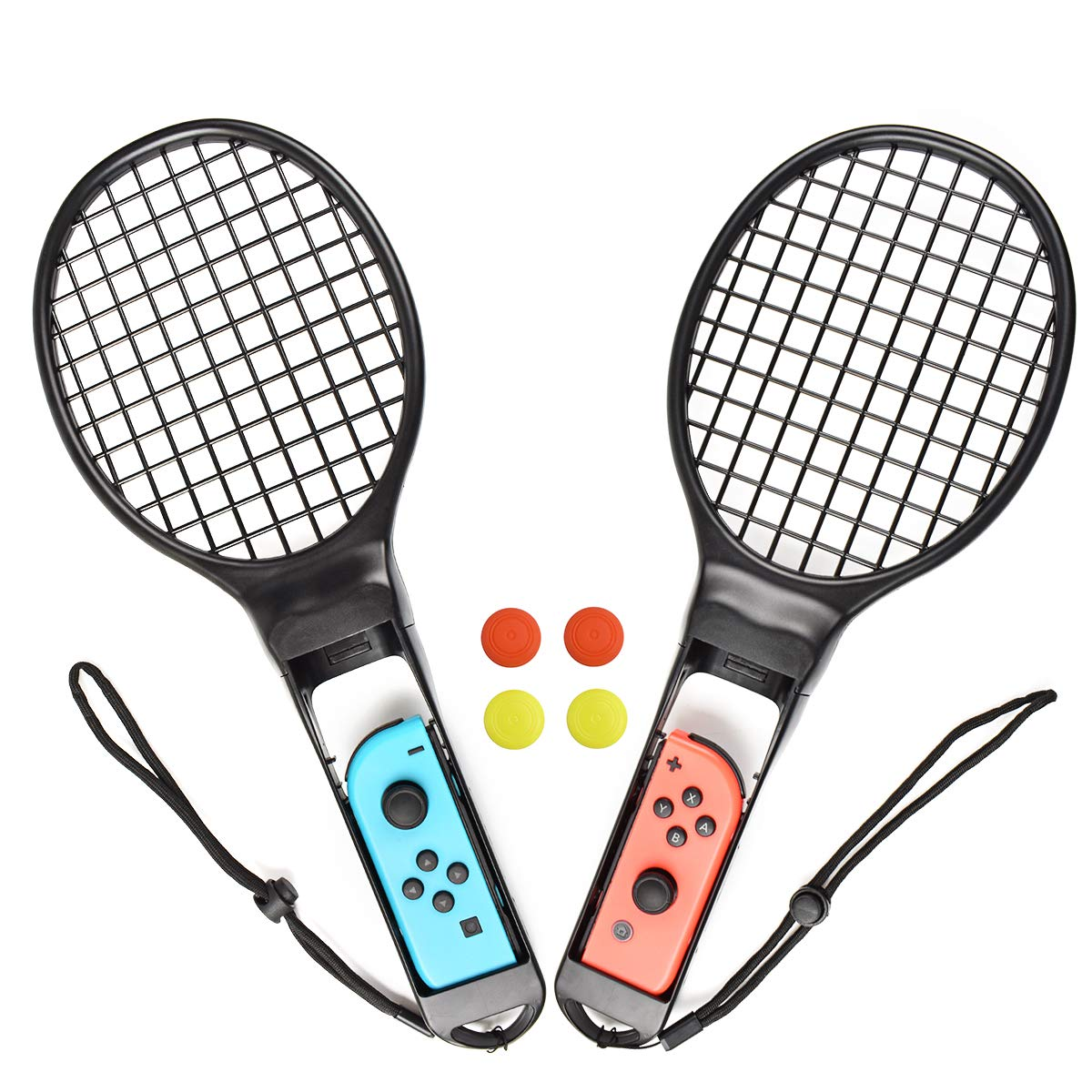 Powtree - Raqueta de Tenis para Nintendo Switch JoyCon Controller ...
