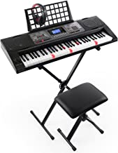 Joy 61-Key Lighted Touch Sensititive & USB-Midi(App)