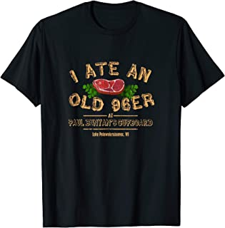 I Ate An Old 96er T-Shirt