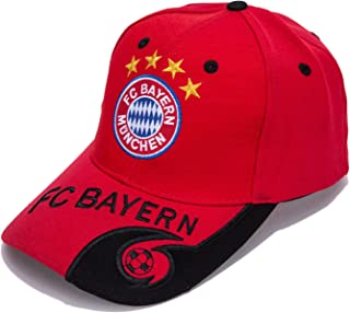 f90f385184e DanielFelix Bayern Munchen F.C. -Embroidered Authentic EPL Adjustable Red  Baseball Cap