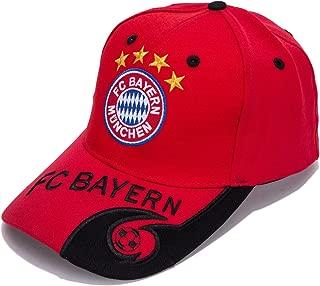 DanielFelix Bayern Munchen F.C. -Embroidered Authentic EPL Adjustable Red Baseball Cap