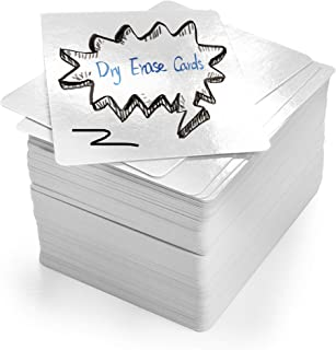 LotFancy Dry Erase Blank Playing Cards, 180PCS Reusable Flash Cards, DIY Vocabulary Study Cards, Learning Cards, Game Card...