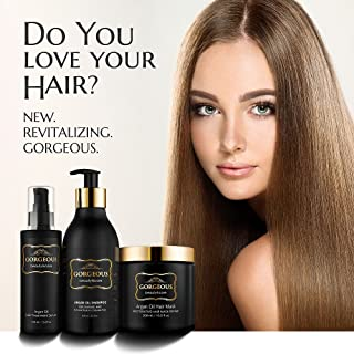Argan Oil Conditioner Hair 16.9 oz Deep Moisturizer Leave In Hair Mask Pro