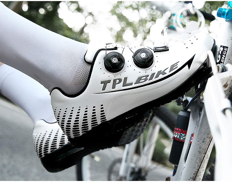 Zapatillas De Ciclismo para Hombre Tres Modos Look Y Fondo De Goma para Principiantes SPD