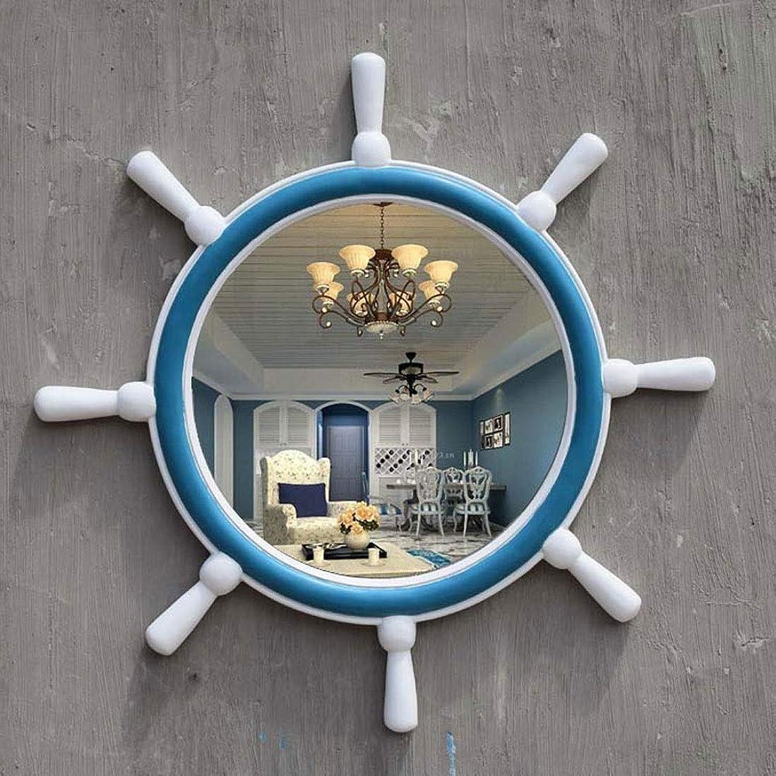 医療過誤クスコ構造バスルームミラー地中海スタイルメイクアップミラーポーチ装飾ミラーウォールミラー-71