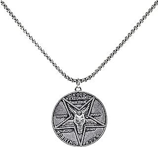 Best lucifer coin necklace Reviews