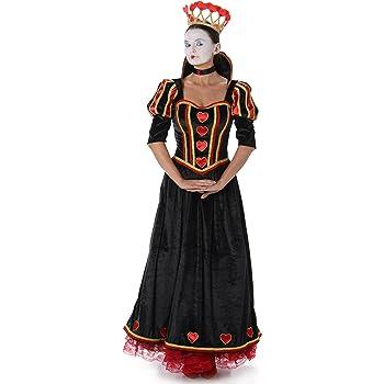 Generique Disfraz Reina de Corazones Mujer XS: Amazon.es: Juguetes ...