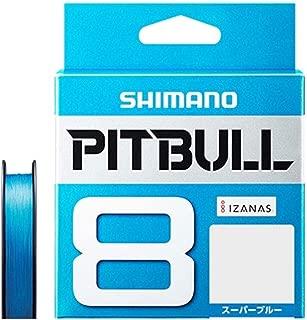 シマノ(SHIMANO) PEライン ピットブル 8本編み 200m 2.0号 スーパーブルー 42.8lb PL-M68R
