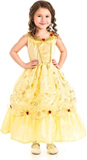 Little Adventures Yellow Beauty Princess Dress Up Costume (Large Age 5-7)