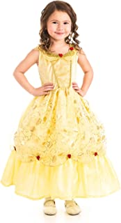 Yellow Beauty Princess Dress Up Costume