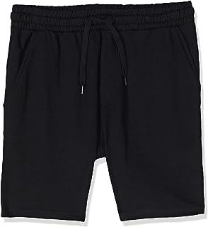 BodyTalk Men's BDTKCL Long Shorts, Black, Large