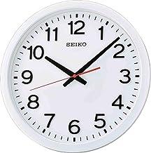 ساعة حائط انالوج QXA732W - ابيض واسود من سيكو
