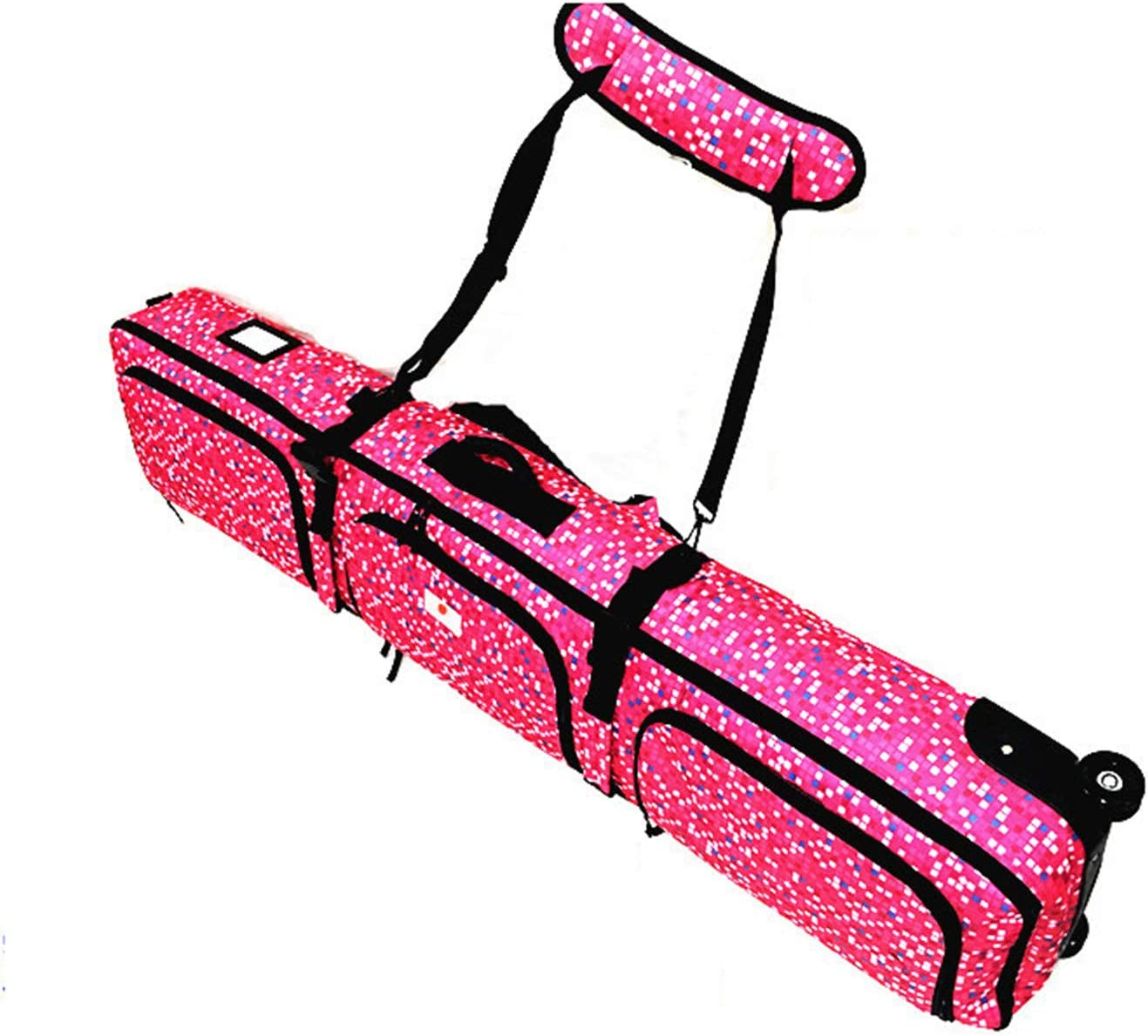 AFYH Snowboard Virginia Beach Mall Bag Rucksack L Ranking TOP13 Roller Rose-Colored