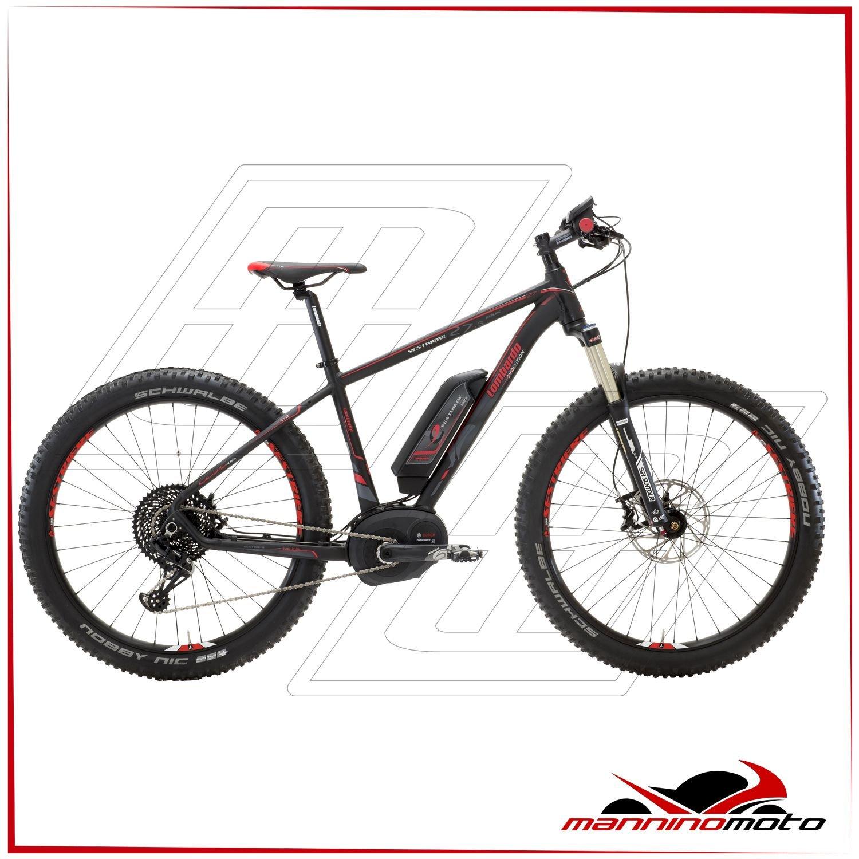 Bicicleta eléctrica MTB Lombardo 29 e-sestriere Motor Bosch Performance CX – 500 WH – 2017, NERA,ROSSA: Amazon.es: Deportes y aire libre