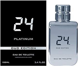 24 Platinum by Scent Story for Unisex Eau de Toilette 100ml