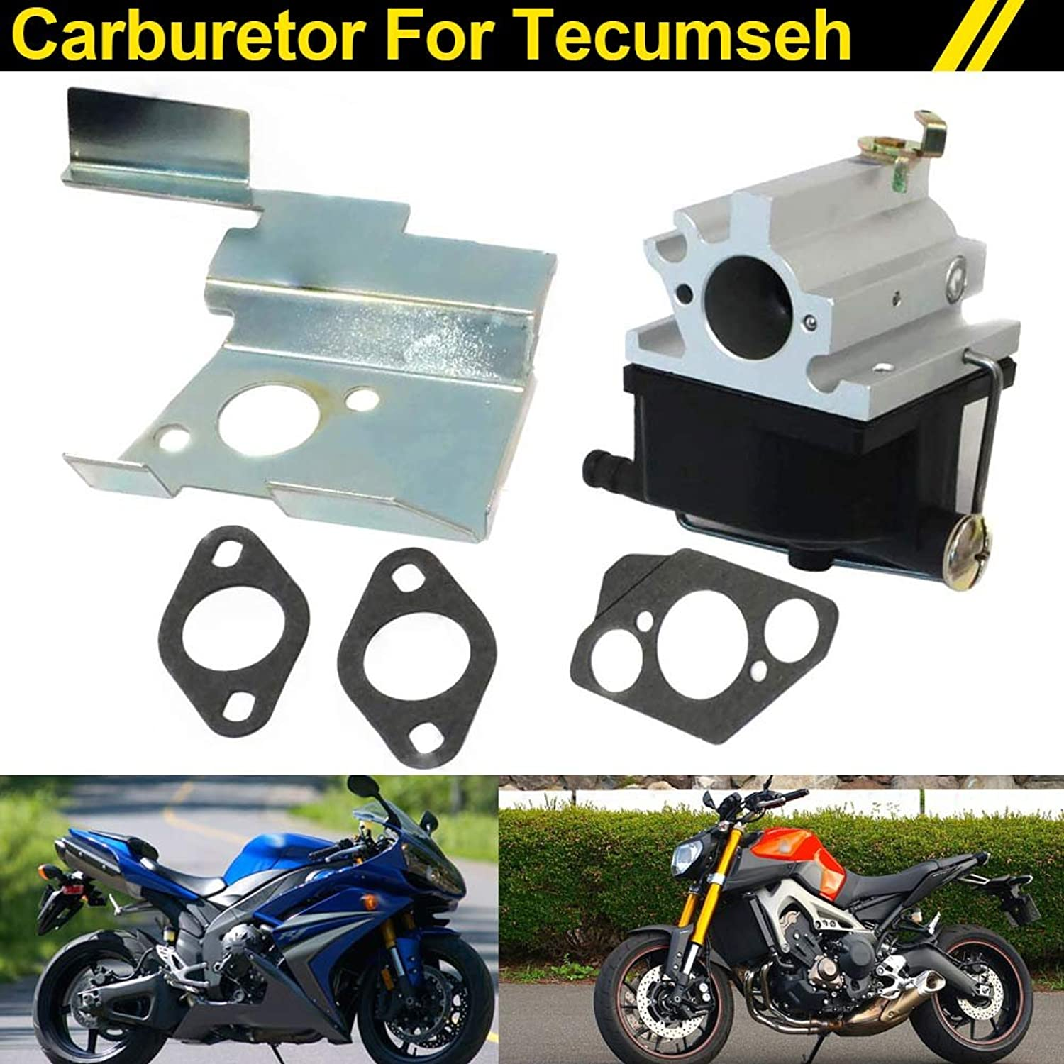 AjaxStore New Carburetor for Tecumseh Craftsman Ariens