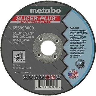"""Metabo 655998000-50PK 6"""" Slicer Plus Cutting Wheel (50pk)"""