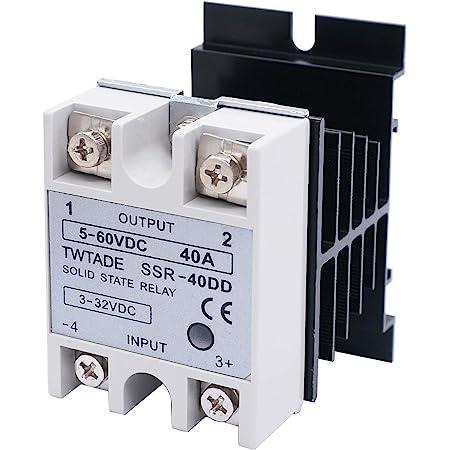 Details about  /NEW 1PCS Solid State Relay SSR-40DA 40A 3-32VDC DC-AC FOTEK