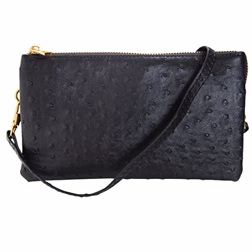 176368cd69af Humble Chic Vegan Leather Small Crossbody Bag or Wristlet Clutch Purse