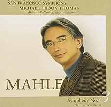 mahler symphony 3 michael tilson thomas