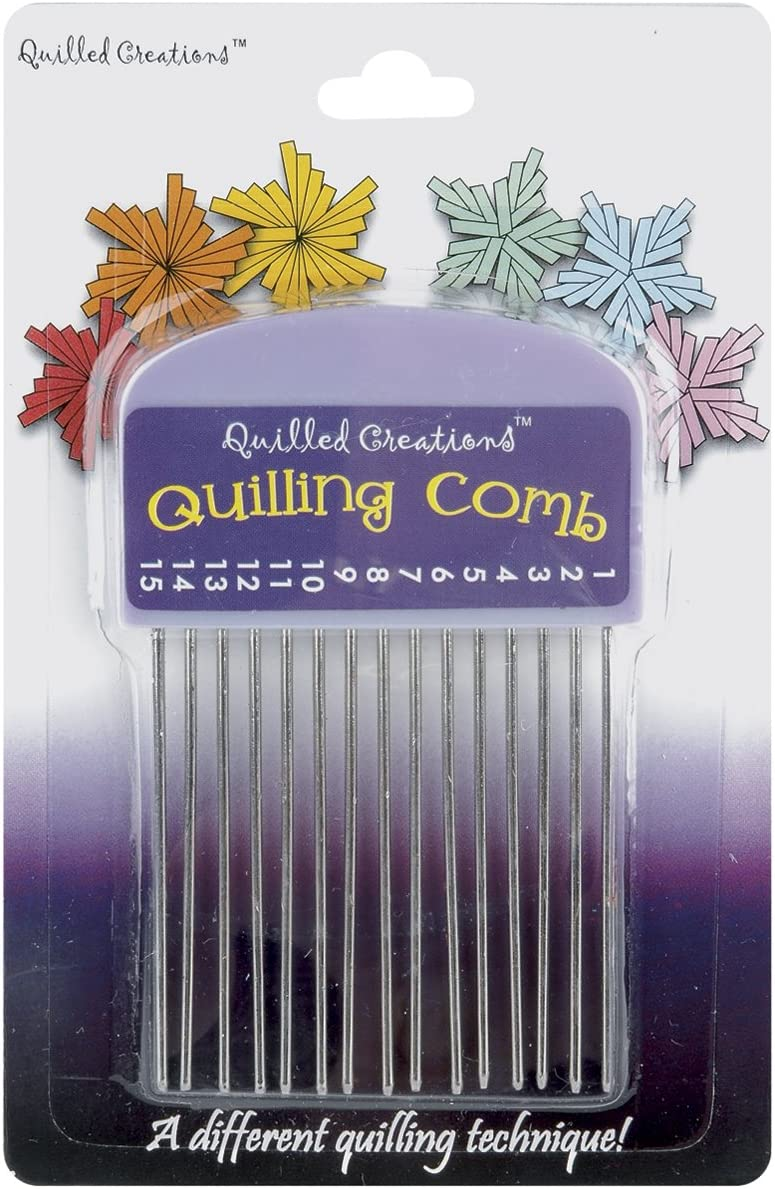 Quilled Creations Quilling Regular dealer Bombing free shipping Comb