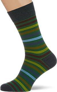 FALKE Men's Tinted Stripe Calf Socks