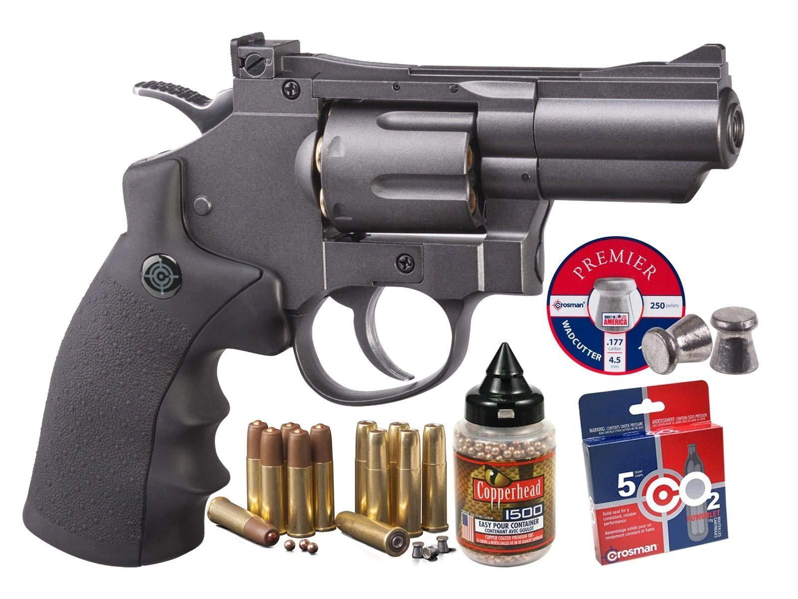 Crosman SNR357 Dual Metal Revolver