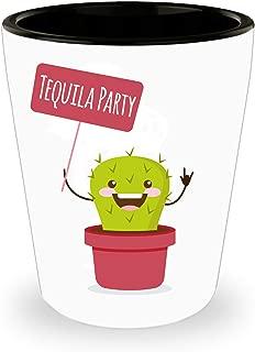 DKLM Cute Tequila Shot Glass – 1.5 oz (2oz. to Brim)