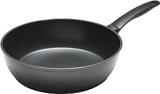 "kuhn rikon بسهولة التقليد خفيفة الوزن مصنوعة من الألومنيوم عالي الحائط frying Pan, 8"", Black"