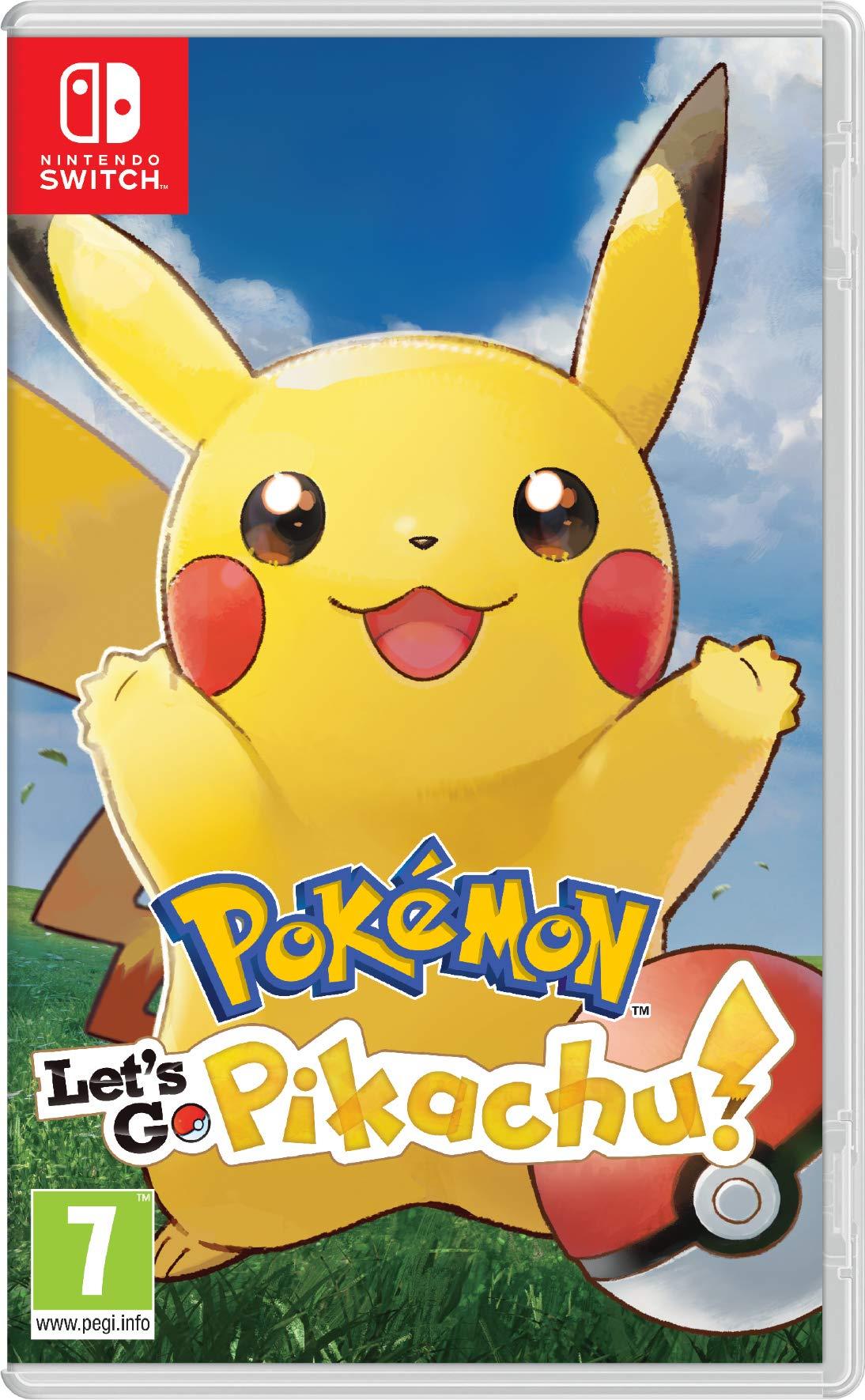 Pokemon: Lets Go, Pikachu! (Importación inglesa): Amazon.es: Videojuegos