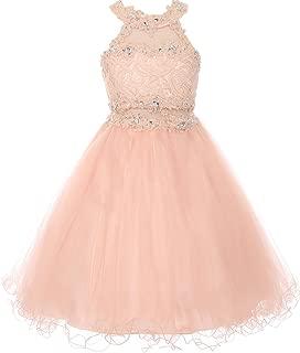 Best blush pink dress short Reviews