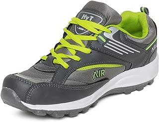 Hytech Mens air Grey Green Running Sports Shoes