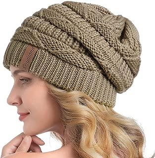 SENDUONA Women Slouchy Beanie Winter Baggy Warm Snow Knit Hat Thick Oversized Skull Cap