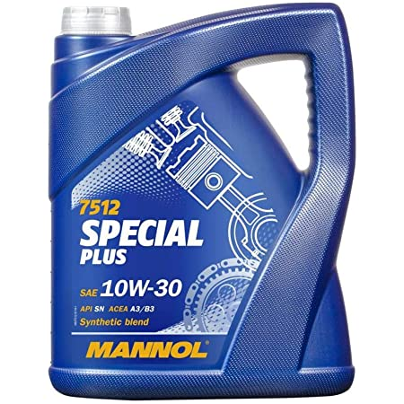 Mannol 1 X 5l 7512 Special Plus 10w 30 Hc Synthese Motoröl 501 01 505 00 Auto