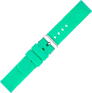 Kiiso Boy's and Girl's Glow in The Dark Silicone Sports Watch Bands 12MM,14MM,16MM,18MM,20MM & 22MM