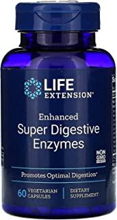 Life Extension Enhanced Super Digestive Enzyme, 60 Vegetarian Capsules