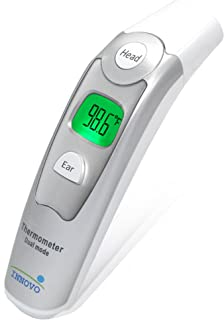 Innovo Medical Forehead and Ear Thermometer - Digital Temperature and Fever Health Alert for Children and Adults - CE and FDA Cleared