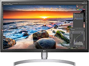 LG 27UL850-W 27 Inch UHD (3840 x 2160) IPS Display with VESA DisplayHDR 400 and USB Type-C Connectivity, White