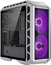 Cooler Master MasterCase H500P Mesh White Computer Case High Air Flow Mesh Front, RGB LED, Tempered Glass Side Panel MCM-H500P-WGNN-S00