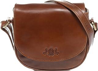 SID & VAIN Umhängetasche echt Leder Brighton klein Crossbody Bag Schultertasche Ledertasche Damen
