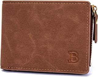 LDUNDUN-BAG, 2019 Men's Dollar Pack Hot Sale Wallet Coin Purse Wallet (Color : Brown, Size : S)