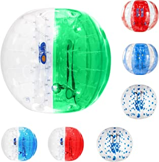 Rimdoc Inflatable Bumper Balls Dia 4 FT/5 FT(1.2m/1.5m) Knocker Balls Human Hamster Ball for Adults, Teens and Kids