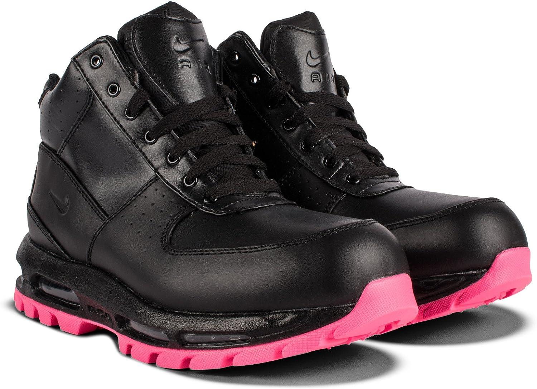 Nike AIR MAX Goadome (GS) Girls Fashion-Turnschuhe 311567-006_4.5Y - schwarz schwarz-Hyper Rosa B01MR34ETU  Sonderangebot zum Jahresende