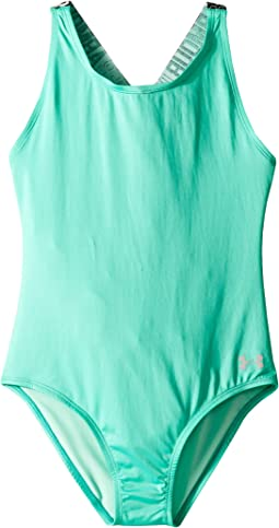 Racer One-Piece Swimsuit (Big Kids)