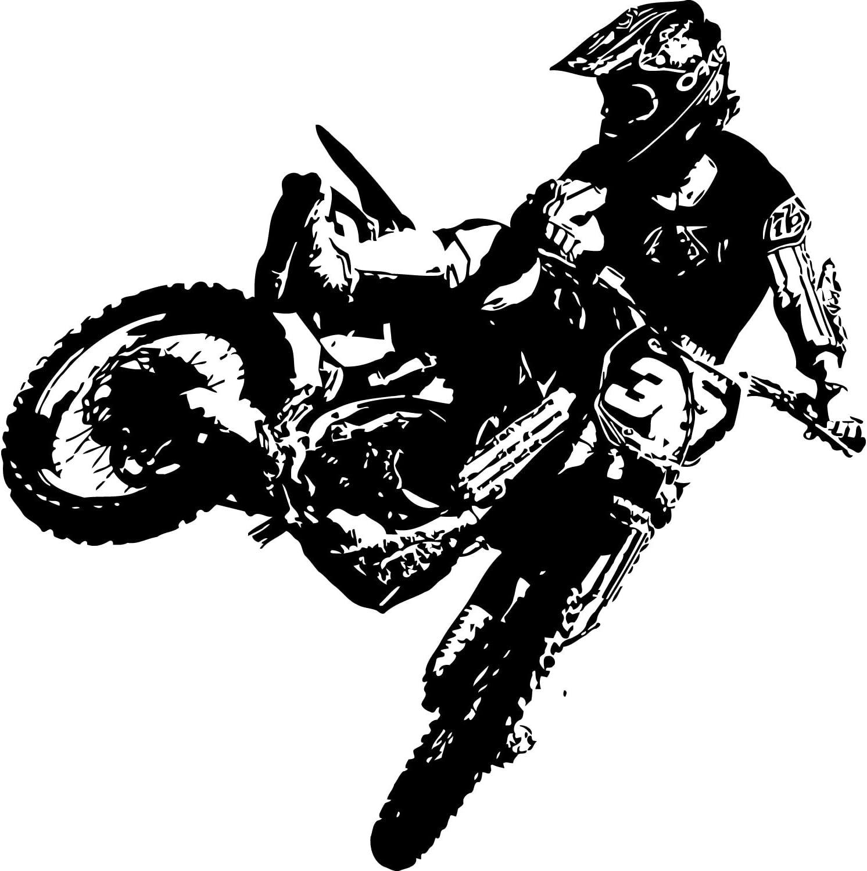 Amazon Com Motocross Dirt Bike Decal Motocross Biker Decal Motocross Bike Sticker Dirt Bike Stickers Motocross Wall Art Dirt Bike Decal Motocross Sticker Motocross Decal Dirt Bike Wall Art 22 X 22 Home