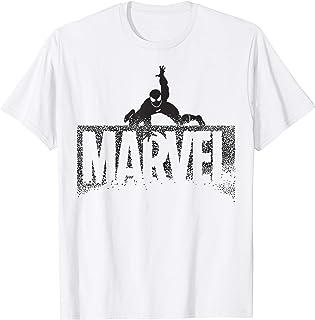 Marvel Spider-Man Dot Fill Disintegrating Logo T-Shirt