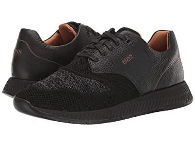 BOSS Hugo Boss Titanium Run Sneakers by BOSS (Black) Men
