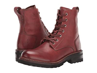 Frye Ella Moto Lace (Redwood) Women