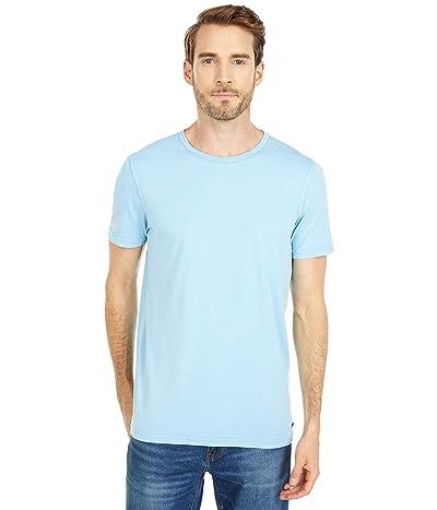 BOSS Hugo Boss Tokks T-Shirt with Sun-Bleached Effect (Turquoise/Aqua) Men