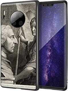 James Barry Huawei Mate 30 Pro用ケース/ファインアート携帯電話ケース/高解像度ジクレーレベルUV複製プリント、携帯電話カバー(ウィリアムピットアールオブチャタム)